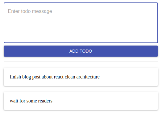 Clean React Architecture with Redux, Immer, TypeScript and