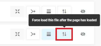 defer non critical files